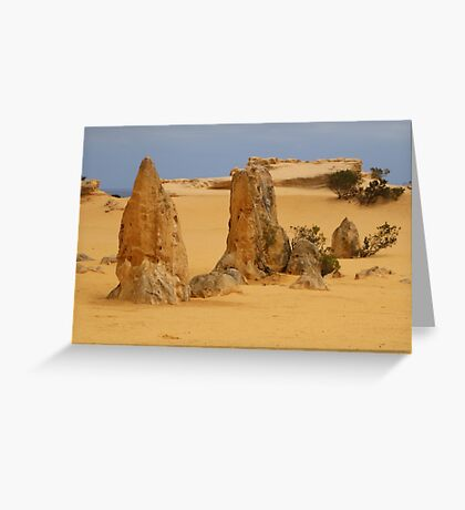 out of the sand Greeting Card