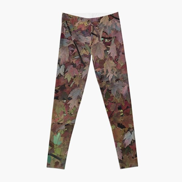 The Painted Tree of Many Colors 3662 Leggings