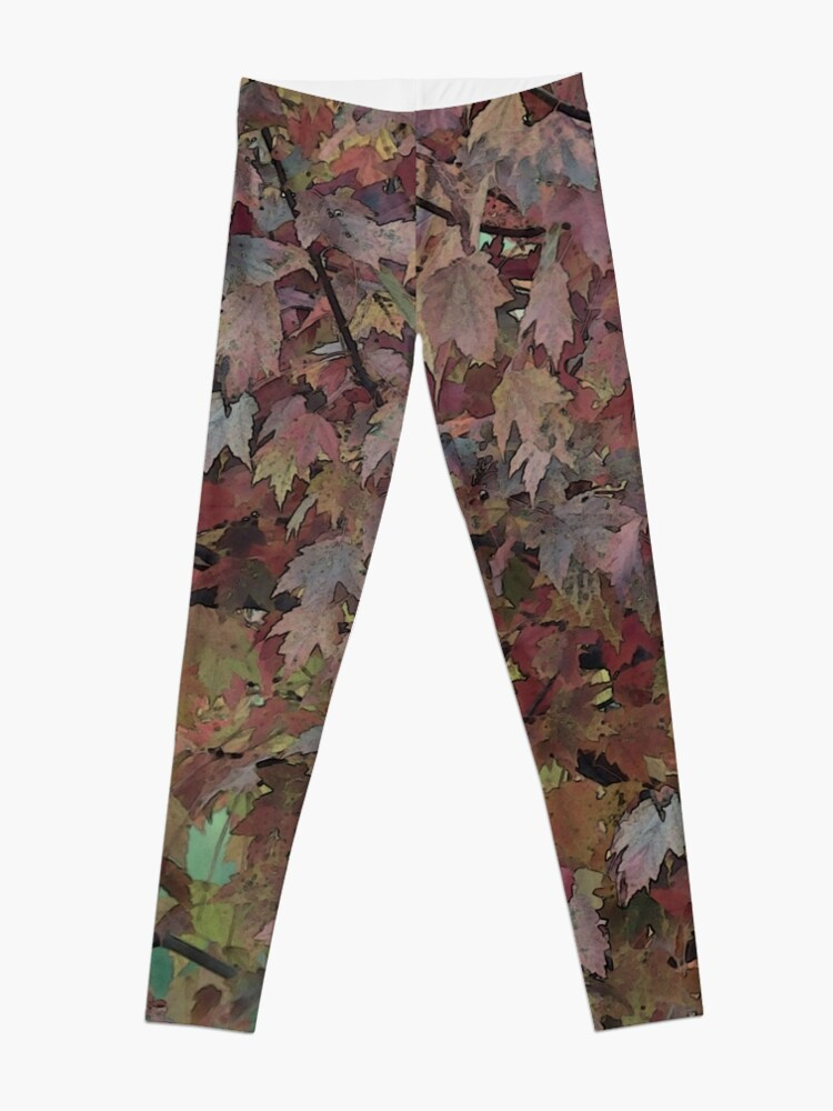 Alternate view of The Painted Tree of Many Colors 3662 Leggings