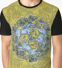 Tri Capall Triskelle Graphic T-Shirt
