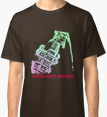 Pastel Hand Grenade — Standard Logo Classic T-Shirt