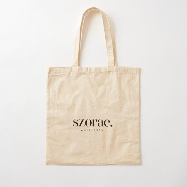 Szorae - Black Cotton Tote Bag