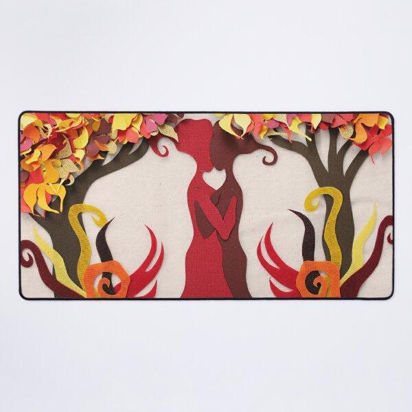 Autumn kiss #2 Desk Mat