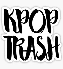 KPOP TRASH Sticker
