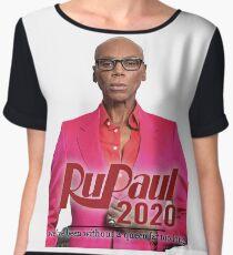 Rupaul for President! 2020! Chiffon Top