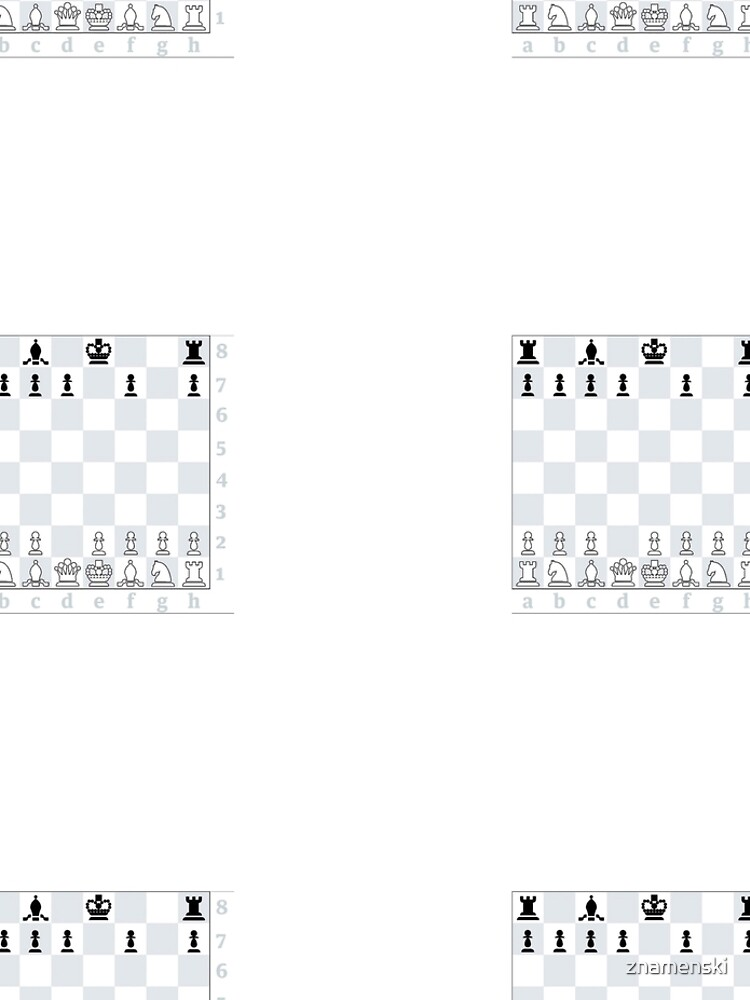 Chess, board game, strategic skill, players, checkered board, player, game,  sixteen pieces by znamenski