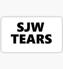 SJW TEARS Sticker