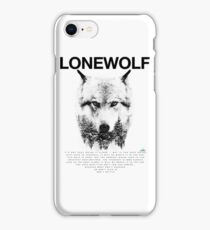 Lone Wolf! iPhone Case/Skin