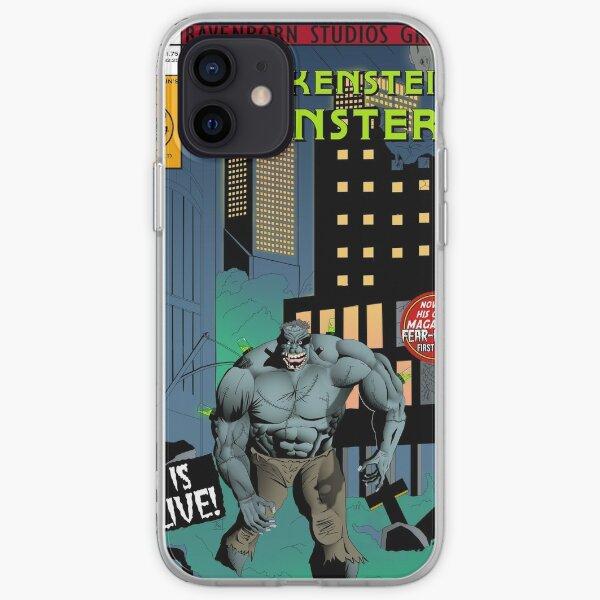 Frankenstein's Monster Comic Cover iPhone Soft Case