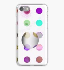 100 DOTS WITH DAMIEN HIRST(C2015) iPhone Case/Skin