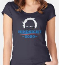 Bernie Sanders - Hindsight 2020 Women's Fitted Scoop T-Shirt