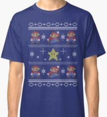 Mario Christmas Sweater Classic T-Shirt