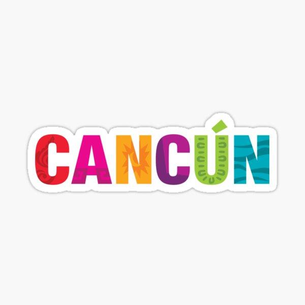 Cancun Sticker