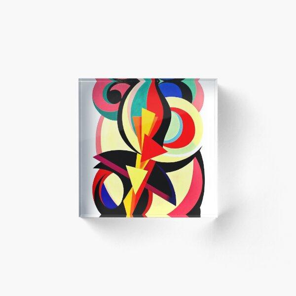 Auguste Herbin - Composition Acrylic Block