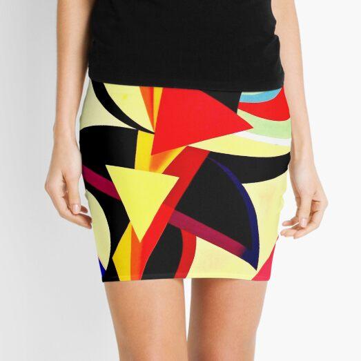 Auguste Herbin - Composition Mini Skirt