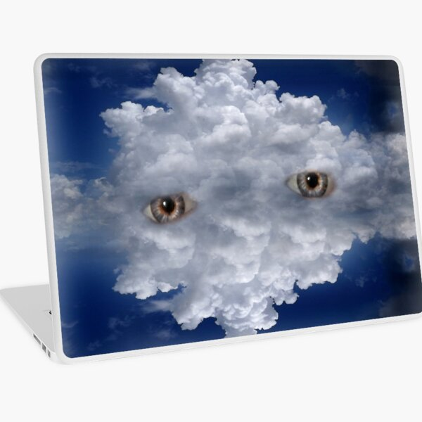 Dreaming  in the clouds Laptop Skin