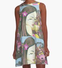 Beltane Wish A-Line Dress
