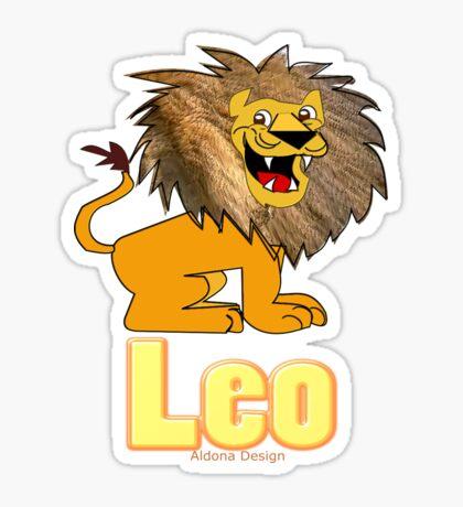 Leo Zodiac Sign  (4296 Views) Sticker