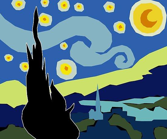 Star-filled night by EucalyptusBear