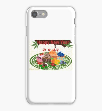 Cup Cake Variety 2017 (4708 Views) iPhone Case/Skin