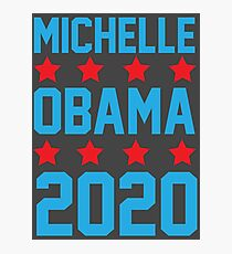 Michelle Obama 2020 Photographic Print