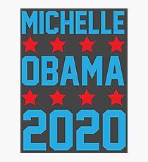 Michelle Obama 2020 Photographic Print