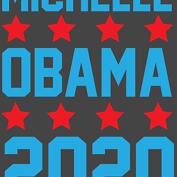 Michelle Obama 2020 von kjanedesigns