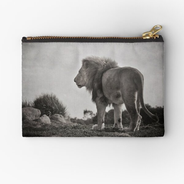 The Old King  Zipper Pouch