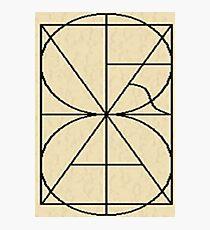 Alphabetic Monogram Photographic Print