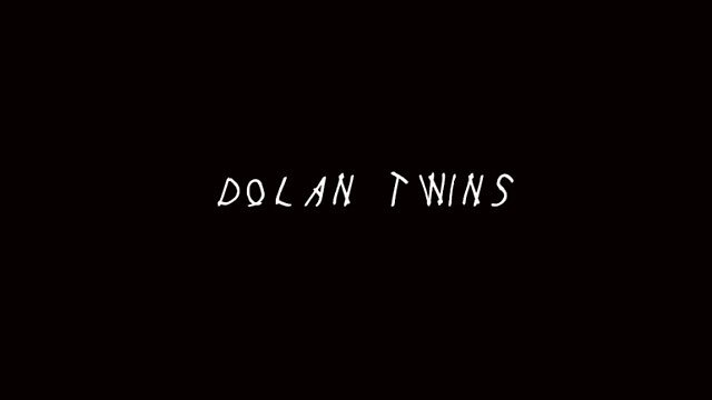 Dolan twins in drake font  by erinndowdd