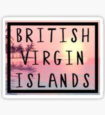British Virgin Islands Sticker