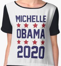 Michelle Obama 2020 Chiffon Top