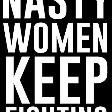 Böse Frauen kämpfen weiter von kjanedesigns