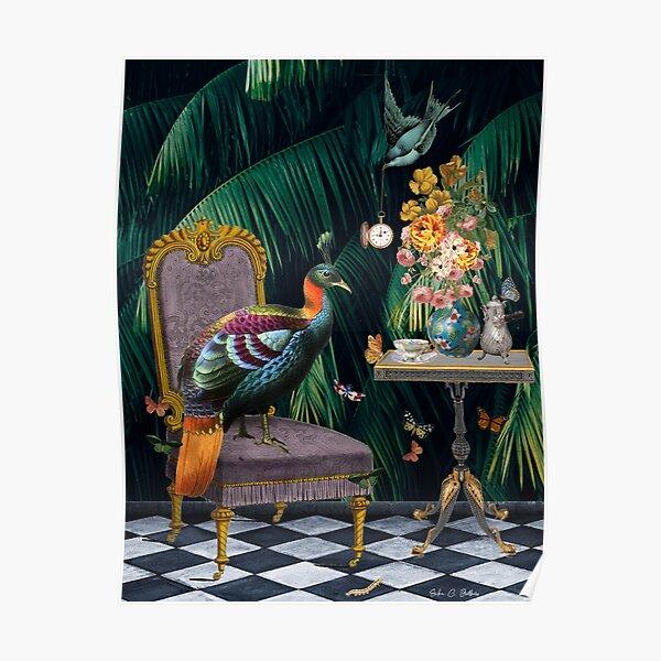Tea Time - Digital Art Poster