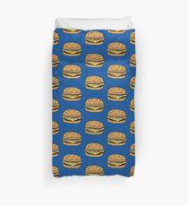 Many Cheeseburgers Duvet Cover