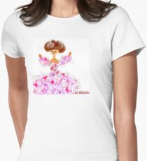 Papillons Womens Fitted T-Shirt