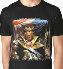 God (Aint) Save The king Graphic T-Shirt
