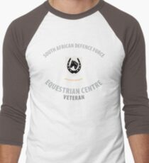 SADF Equestrian Centre Veteran  Men's Baseball ¾ T-Shirt