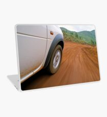 New Caledonia, Grand Terre Island, car on road (blurred motion) Laptop Skin