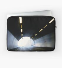Traffic in road tunnel (blurred motion) Laptop Sleeve