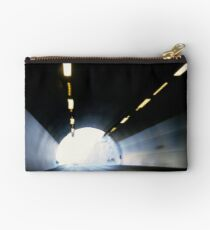 Traffic in road tunnel (blurred motion) Studio Pouch