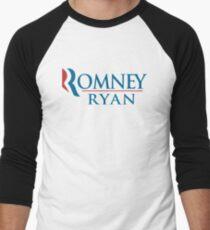 A Mitt Romney Men's Baseball ¾ T-Shirt
