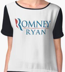 A Mitt Romney Women's Chiffon Top