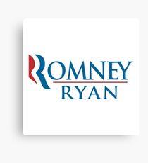 A Mitt Romney Canvas Print