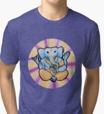 ganesh enjoys shakes Tri-blend T-Shirt