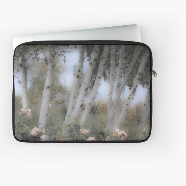 Rose and Birch Laptop Sleeve