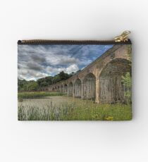 Coalbrooke dale aquaduct, Telford Shropshire Studio Pouch