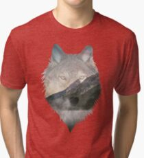 Wolf Mountain Tri-blend T-Shirt