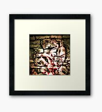 beating of her hideous heart Framed Print