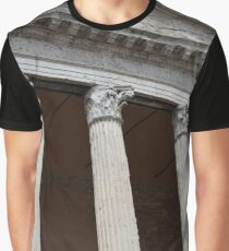 Classical temple with Corinthian columns Graphic T-Shirt